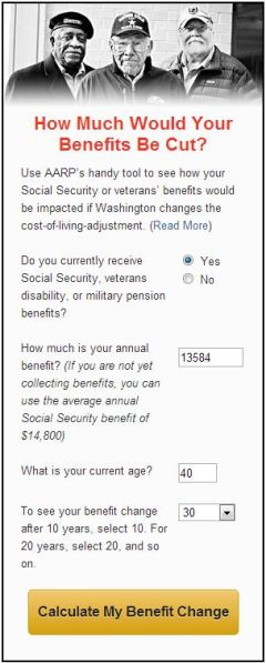 aarp chained cpi calculator