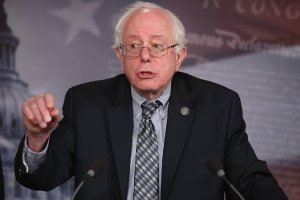 Sen. Bernie Sanders of Vermont introduces a bill to strengthen Social Security. (Chip Somodevilla / Getty Images / March 7, 2013)