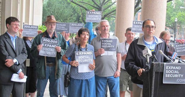 social security expand it protest common dreams